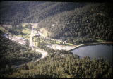 Alto Lake and High Country Lodge Aerial