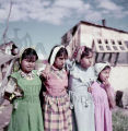Four American Indian girls