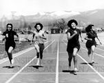 IAIA Students running on track