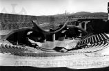 Construction of Paolo Soleri Amphitheatre