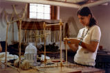 """Native Indian Materials: Earch Colors, Plant Dyes, Porcupine Quill, Finger Weaving"""
