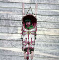 Plains American Indian cradleboard with doll
