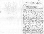 Letter to Indian Agent from Mormon settlers