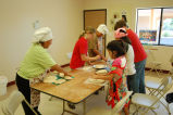 Pueblo House bread baking