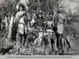 Group of Apache Indian Scouts