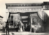 Rosenwald Bro's Dry Goods and Clothing Store, Downtown Albuquerque, N.M.