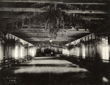 Interior of the lodge at the Pavilion of Cloudcroft, New Mexico, ca. 1908
