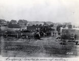 Company quarters at Fort Sumner, New Mexico