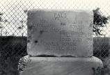 Gravestone at Fort Sumner, New Mexico