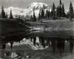 Mt. Rainier from Mazama Lake, Mount Rainier National Park