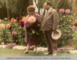 Gov. & Mrs. Tingley with Flowers