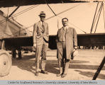Charles Lindbergh and Clyde Tingley