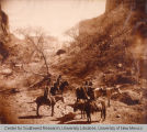 Pueblo Indians on Horseback