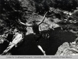 Cliff diving on the Stanislaus River (Calif.)
