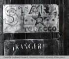 Star Tobacco Sign in the Ghost Town of Chloride, New Mexico