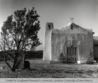 Church in the Ghost Town of Golden, New Mexico
