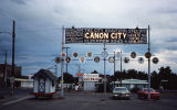 Canon city sign