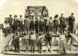 Railroad workers, Aztec (N.M.)