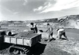 United Nuclear Corp. workers removing radioactive waste from Rio Puerco (N.M.)