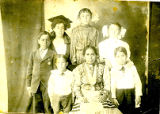 Tondre and Valenzuela family, Los Lentes, early 1900's.