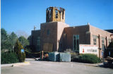San Clemente Church, 1952-2004, Los Lunas, New Mexico.