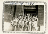Class of 1938, Solomon Luna Union High School, Los Lunas, New Mexico.