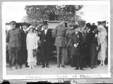 """Queen and King of Belgium at Isleta, New Mexico"""
