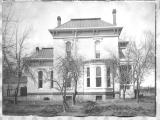 """East side of Luna Mansion, Home, Los Lunas"""