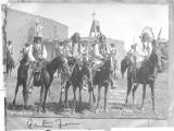 """The Governors from San Juan, Santa Clara, Tesuque, and San Ildefonso at Santa Fe, NM"""