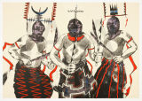 3 Apache Ghan Dancers, Edition Presentation Proof-4