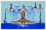 Untitled (Kachina, Mudheads and Water Serpents)