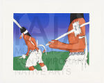 Apache Crown Dancers, Artist Proof