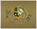 Untitled (Turkey and Cornstalks), Plate 11, Szwedzicki Portfolio