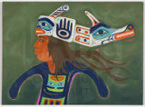 Untitled (Tulalip Man with Headdress)