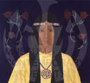 Untitled (Young Native Woman in Buckskin)