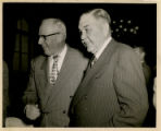 John E. Miles with Unidentified Man