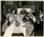 Miles Family at Table