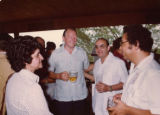 Ambassador Mari-Luci Jaramillo and Dr. Jaramillo at Rio Lindo hydroelectric inauguration...