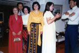 Ambassador Mari-Luci Jaramillo  at a reception