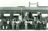 Santa Fe Railroad Workers
