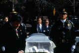 Honor Guard with Casket