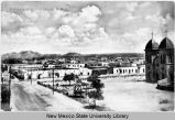 Bird's eye view of Las Cruces, New Mexico, ca. 1909
