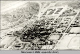 Aerial view of New Mexico A and M College Campus near Las Cruces, New Mexico