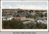 Bird's eye of view of Las Cruces, New Mexico, ca. 1916