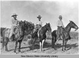 Cox men on horseback