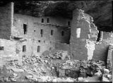 Spruce Tree House main tower, Mesa Verde National Park, Colorado