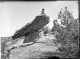 Balanced Rock ruin, Ruin Canyon, McElmo Canyon, Colorado