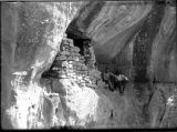 First Cave ruin near road entering McElmo Canyon, Colorado