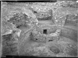 Round altared kiva, Cannonball ruin, Colorado