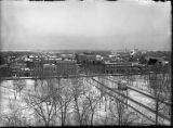 View of Greeley from top of school house, Greeley, Colorado